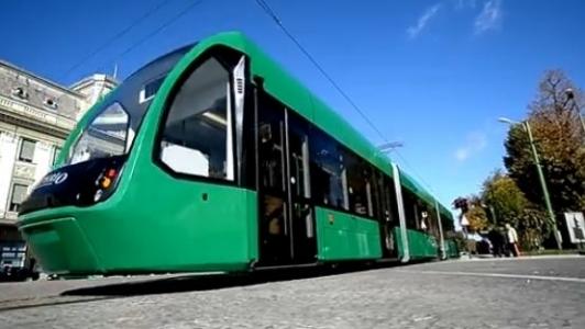 Al patrulea oras din tara in care tramvaiul romanesc nu are competitori