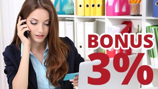 Bonus pentru cumparaturile cu cardul Leumi