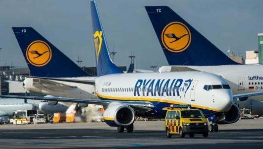 Lufthansa pierde titlul de cea mai mare companie aeriana europeana in favoarea Ryanair
