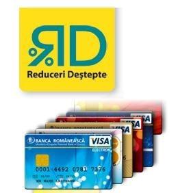 Orice card de la Banca Romaneasca iti aduce Reduceri Destepte fara sfarsit